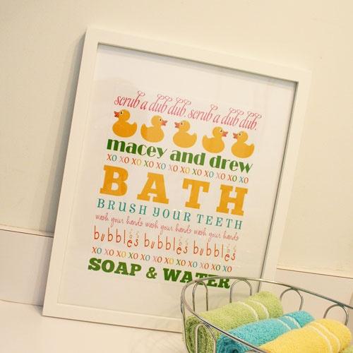 56 best bathroom wall art images on Pinterest | Bathroom wall art ...