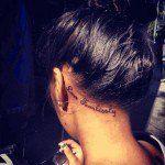 36 ear tattoo