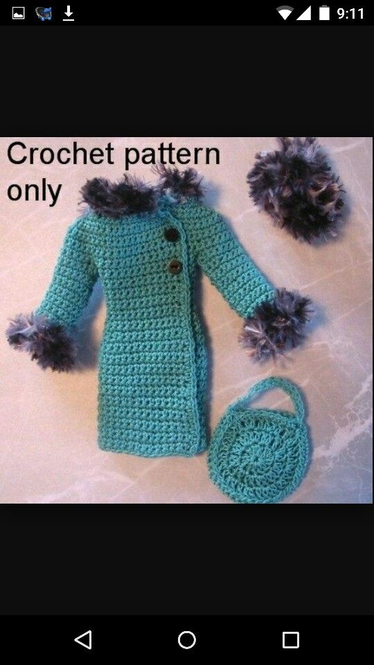Free Crochet Pattern Elsa Cape : 3418 best images about Barbie Dolls on Pinterest Crochet ...