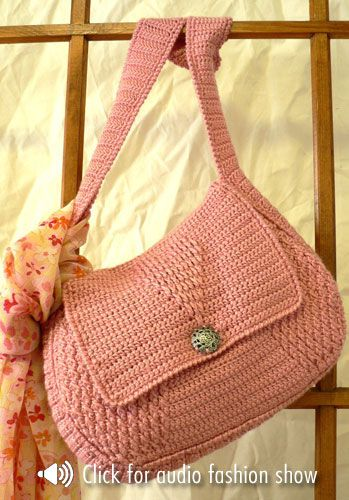 Crochet Bag ~ Free Pattern