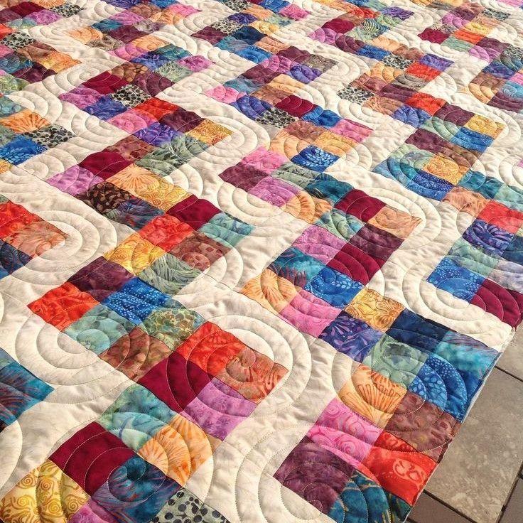 Research for an upcoming scrap quilt class at TechShop Chandler: rag quilts, jean quilts, scrap quilts, abstract quilts, and fussy cut scrap quilts.