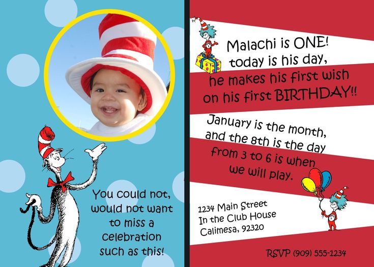 14 best first birthday ideas images on pinterest | birthday ideas, Birthday invitations