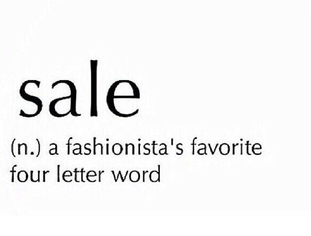 Bildresultat för sale favorite four letter word quotes