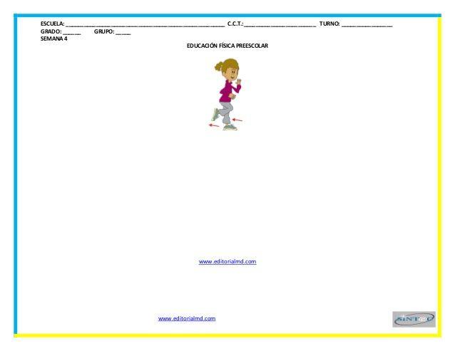 Planeaciones de educacion fisica para preescolar - Con Aprendizajes E…