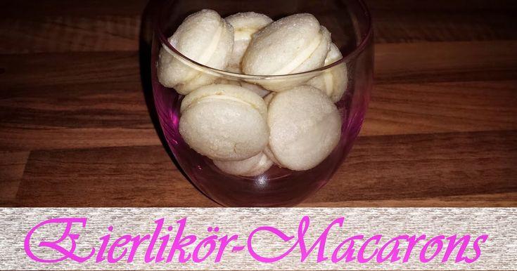 Zutaten für die Macarons: 2x Eiweiß (Ei Gr. M) 100g Erythritol 80 g gemahlene blanchierte Mandeln 2 Messerspitzen Wein...