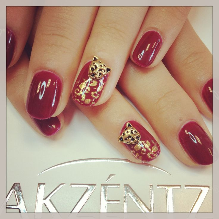 Red leopard .... Very nice red Color! Its so classic, and still wilde....we add some leo ... Love it:)