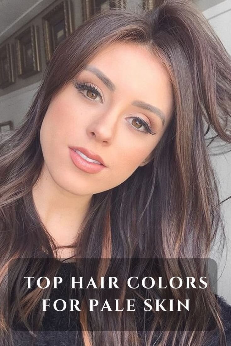 Decide A Color To Do Peekaboo Highlights Brunette Hair Color Colored Hair Tips Hair Color For Fair Skin