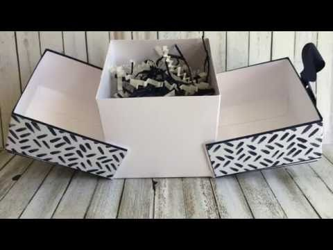 Kirigami Box Tutorial - Stamping the Cape                                                                                                                                                                                 More
