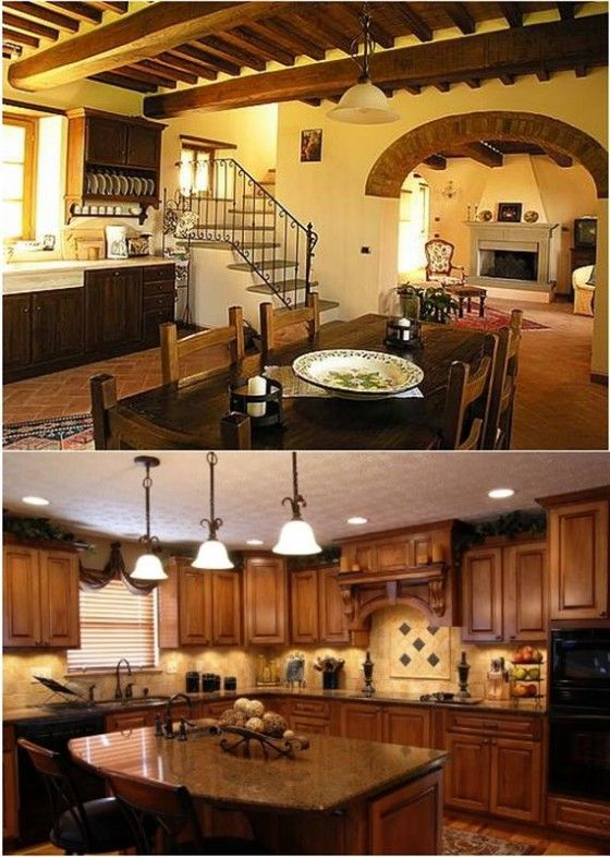 Image Detail For Tuscan Kitchen Design Style Decorating Ideas