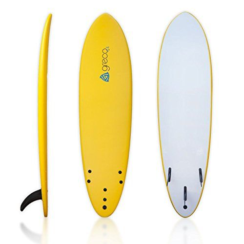 Special Offers - 7 Performance Soft Top Foamboard Funboard Longboard Foam Surfboard by Greco Surf (Yellow) - In stock & Free Shipping. You can save more money! Check It (May 11 2016 at 06:17PM) >> http://rccarusa.net/7-performance-soft-top-foamboard-funboard-longboard-foam-surfboard-by-greco-surf-yellow/