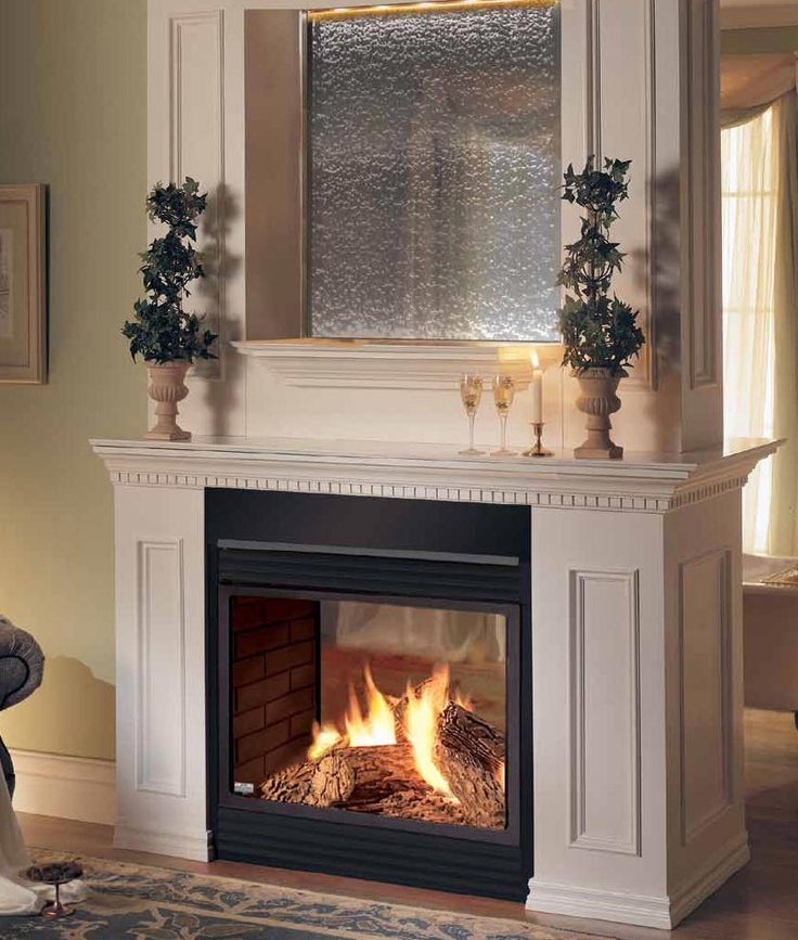 ... Peninsula Gas Fireplace Napoleon Bgd40 See Thru Fireplace Direct Vent Fireplace  Peninsula Direct Vent See Thru ...