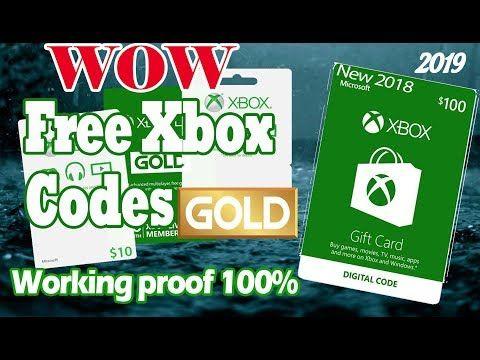 free xbox codes 💲💲💲 free xbox gift card || xbox gold live