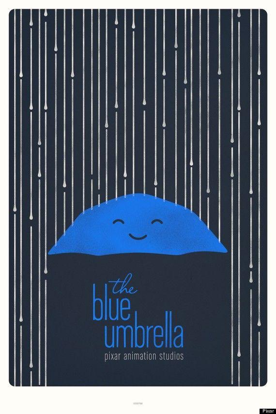 The concept behind Pixar's Blue Umbrella