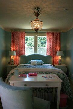 girl's ecclectic bedroom -- tween/teen
