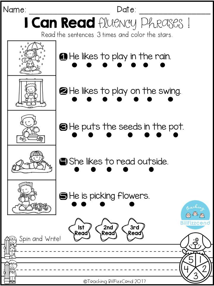 Free Reading Fluency Phrases Belajar Di Rumah Belajar