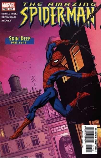 Skin Deep - Marvel - Building - Web - Direct Edition - Gary Frank
