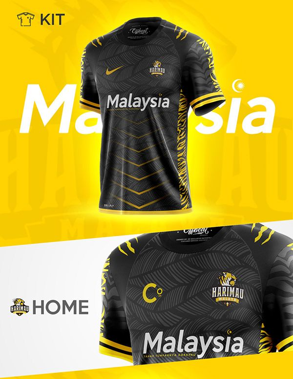 Download Malaysian Jersey Concept On Behance Sport Shirt Design Sports Jersey Design Jersey Design