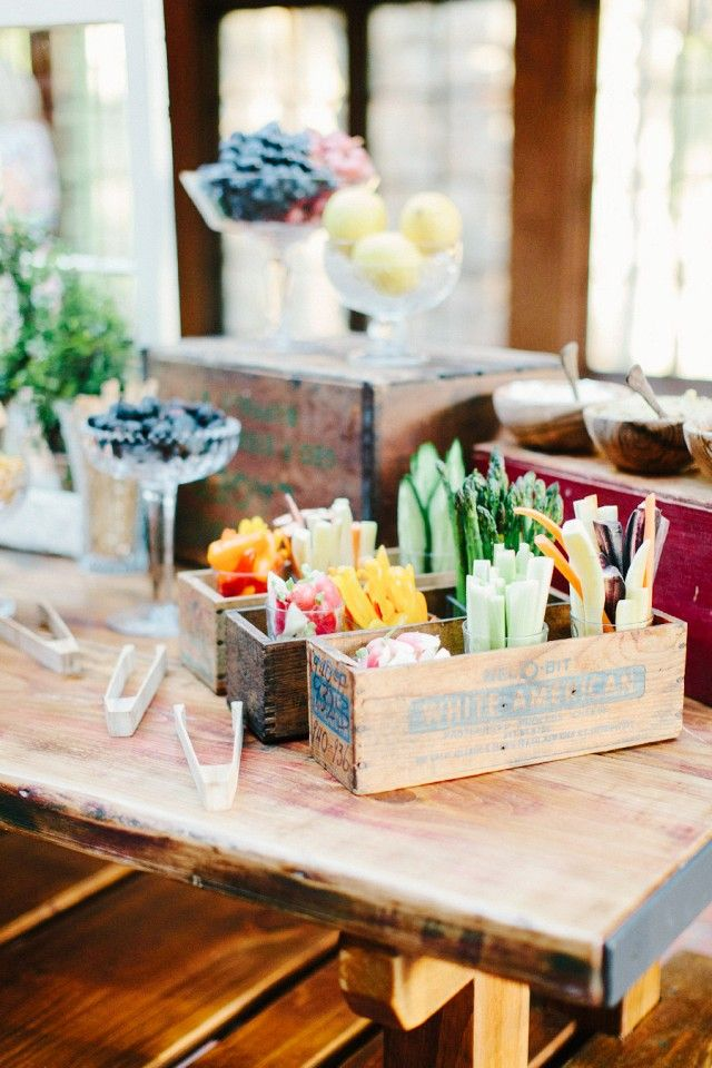138 best Wedding Food Station Ideas images on Pinterest