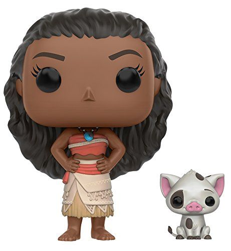 From Moana Moana & Pea as a stylized POP vinyl from Funko. Stylized collectable stands 3 ¾ inches tall perfect for any Moana fan. Collect and display all Moana POP Vinyls. Collect and display all ...