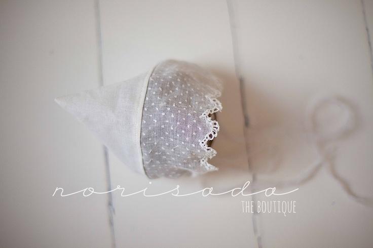 true vintage lace bonnet, $36.00 by norisada