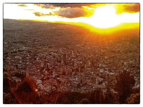 Vista desde Monserrate - Bogotá