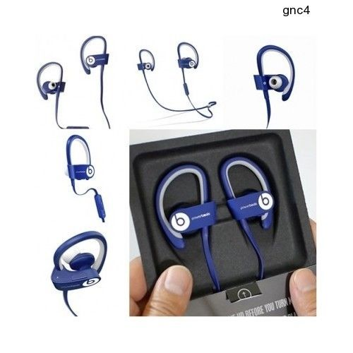 Beast Audio High Quality Wireless Bluetooth in Ear Headphone Powerbeats 2 Blue | eBay