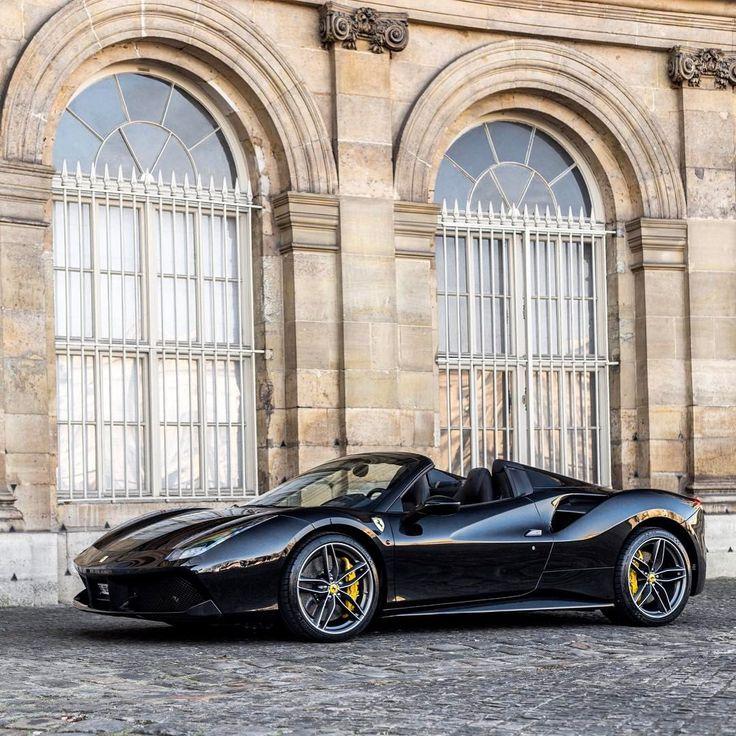 Full black Ferrari 488 GTB