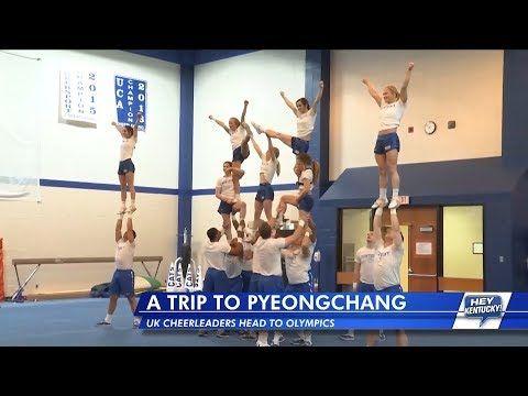 Hey Kentucky! checks in with the UK Cheerleaders before they head to the Winter Olympics | Kentucky Sports Radio