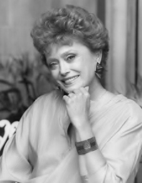 Rue McClanahan (1934 - 2010) She played Blanche in the TV ...