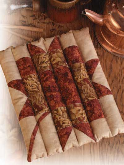 quilted rice filled trivet