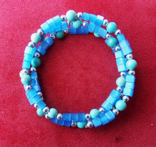 Turquoise Bracelet by http://ift.tt/18TxZLt Jewelry I made http://ift.tt/2EQEtU8 Free eBook at http://ift.tt/219cweU with easy jewelry making projects.  Turquoise Bracelet by http://ift.tt/18TxZLt Jewelry I made...