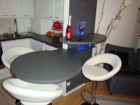 table de bar sur mesure