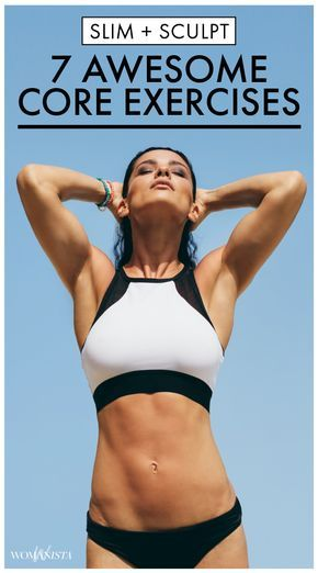 Trying to get that six-pack you've always dreamed of? These core exercises will help get you there. Combined with a healthy diet and a healthy dose of cardio, you'll see a slimmer stomach in no time. Get the moves! Womanista.com
