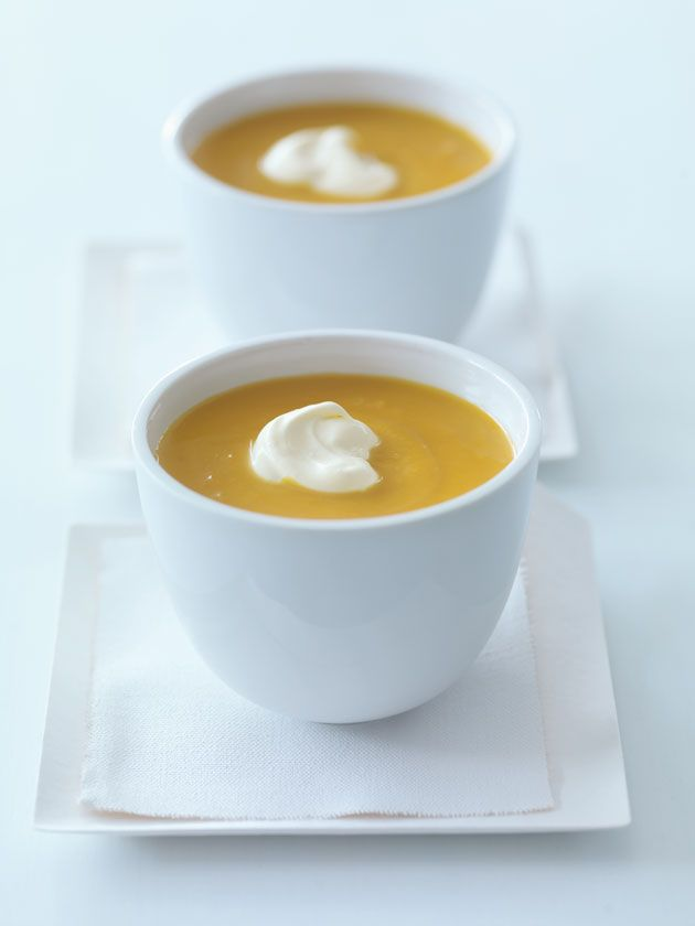 roasted pumpkin soup. this is amazing because everything is roasted in the oven and then put into a blender! so simple and easyyyy. love donna hay.