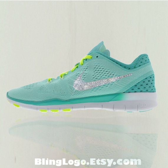 Nike Free Tr Fit 5 Breathe Shoes With Swarovski by BlingLogo