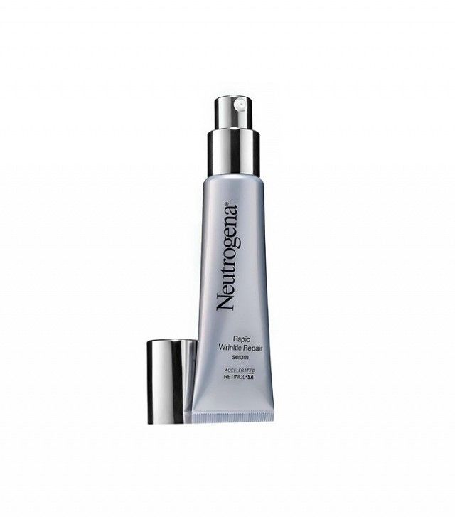 Say adios to stubborn wrinkles with Neutrogena's accelerated retinol formula. This product will smooth fine lines and reduce deeper wrinkles like crow's feet and worry lines. Hyaluronic acid plumps and rejuvenates the skin while retinol renews, tightens, and brightens the complexion.