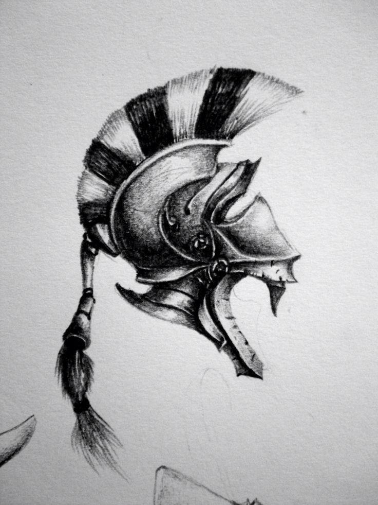 Greek Helmet by Rywell on DeviantArt  |Athenas Greek Helmet