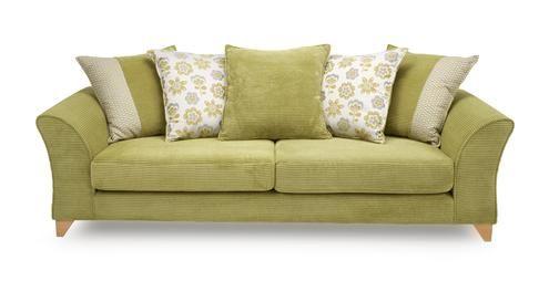 4 Seater Pillow Back Sofa Sundae   DFS