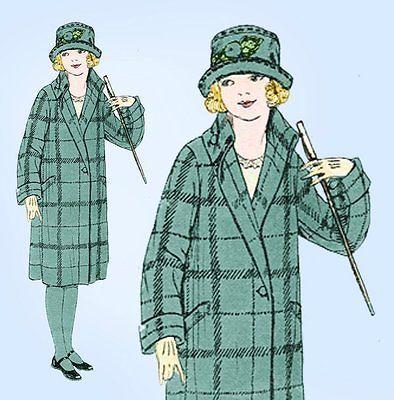 1920s Vintage Girls Flapper Coat Uncut 1926 Butterick ...