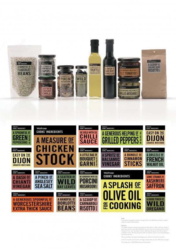 WAITROSE COOKS' INGREDIENTS, WAITROSE COOKS' INGREDIENTS FOOD PRODUCTS, Lewis Moberly, Waitrose, Print, Outdoor, Ads PD