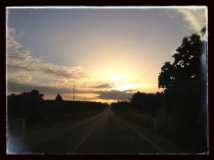 Salento - Road to Martano