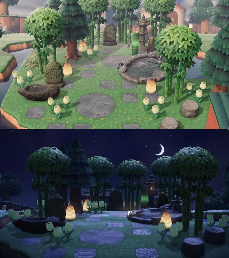 Bamboo grove in 2020 Animal crossing 3ds, Animal