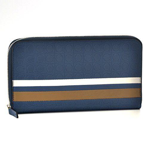 Amazon.co.jp: Salvatore Ferragamo(サルヴァトーレ フェラガモ) 財布 メンズ GAMMA BANNER ラウンドファスナー長財布 ブルー 660175-0007-0195 [並行輸入品]: シューズ&バッグ:通販
