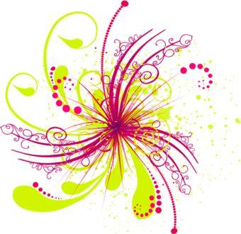 fleurs stylis es fleurs multicolores pinterest. Black Bedroom Furniture Sets. Home Design Ideas