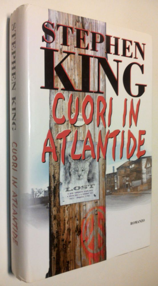 Stephen King CUORI IN ATLANTIDE edizione Mondolibri 2000