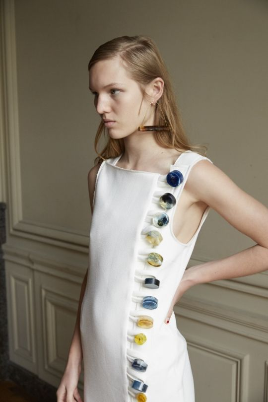Details from the Christopher Esber SS16 collection... I'm in love. +vogue.com.au