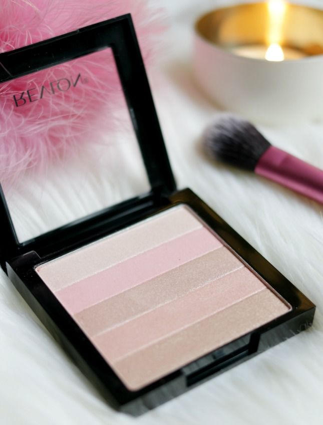 Revlon Highlighting Palette in Rose Glow #bbloggers