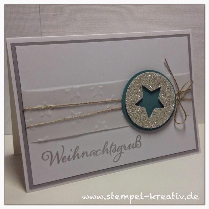 Kreativ Karten gestalten: Weihnachtskarte Nr. 4 ...