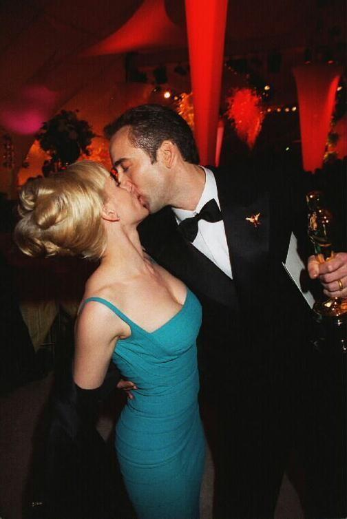 Patricia Arquette and Nicolas Cage