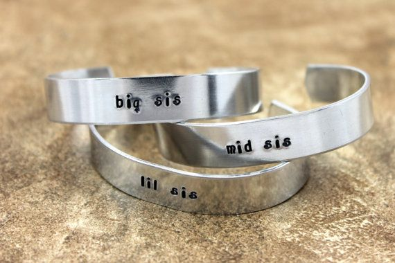 Hey, I found this really awesome Etsy listing at https://www.etsy.com/listing/177863051/sister-gift-big-sis-mid-sis-and-lil-sis